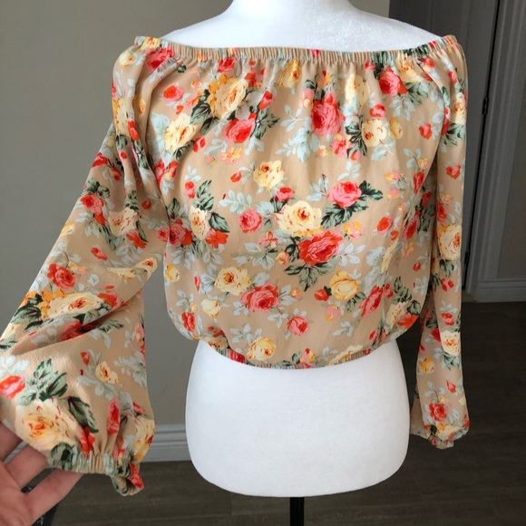🟢2 for 20$ | Cute flower top